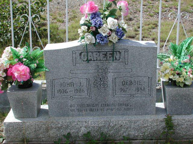 CAREEN, John J (1986) & Debbie (1988) PLN01-7656