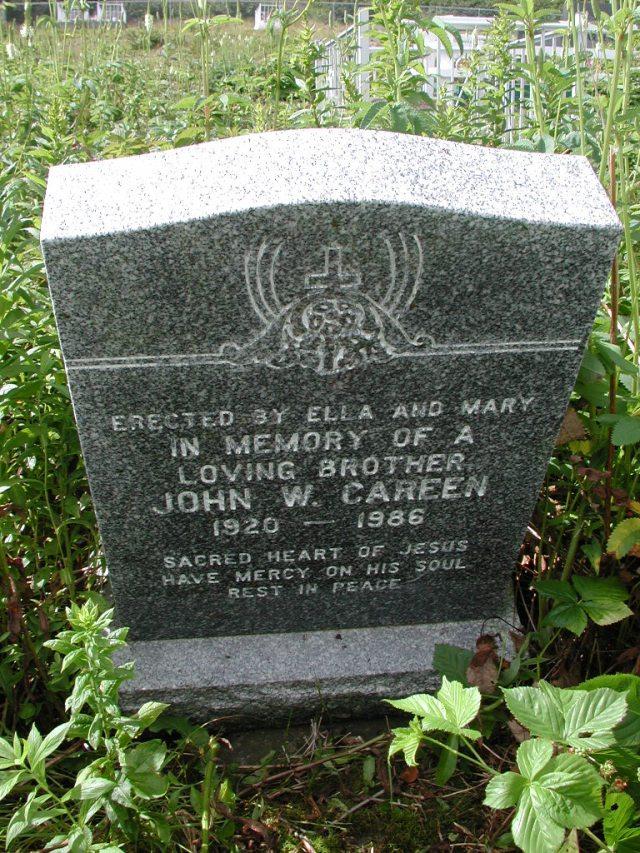 CAREEN, John W (1986) PLN01-3083