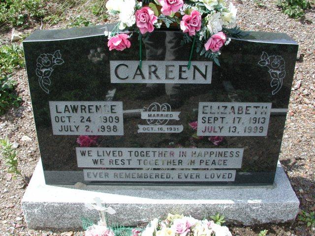 CAREEN, Lawrence (1998) & Elizabeth (1999) PLN01-3089