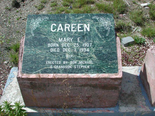 CAREEN, Mary E (1994) PLN01-7659