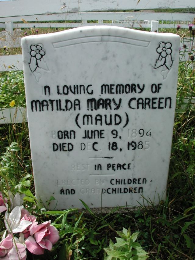 CAREEN, Matilda Mary Maud (1985) PLN01-7626