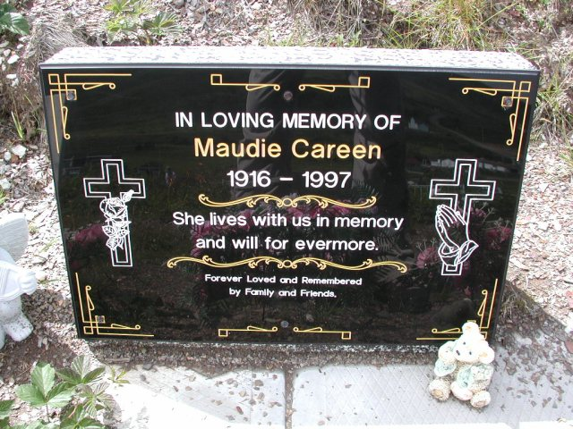 CAREEN, Maudie (1997) PLN01-3073