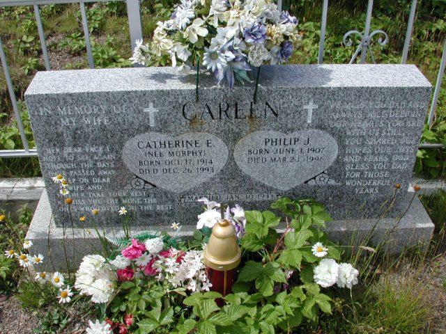 CAREEN, Philip J (1996) & Catherine Murphy (1993) PLN01-3052