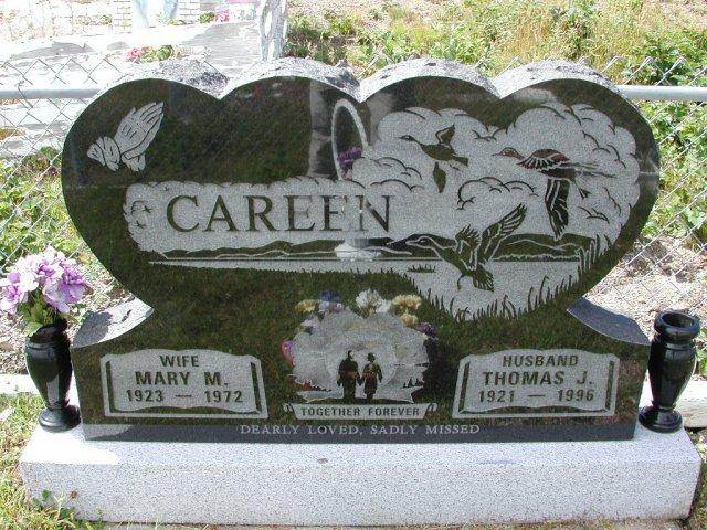 CAREEN, Thomas J (1996) & Mary M (1972) PLN01-3094