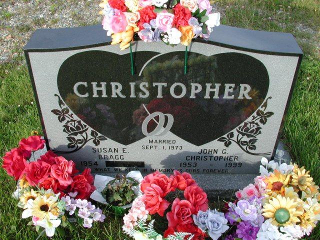 CHRISTOPHER, John G (1999) & Susan E Bragg STM03-9444