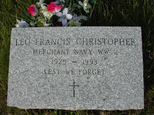 CHRISTOPHER, Leo Francis (1993) STM03-9469