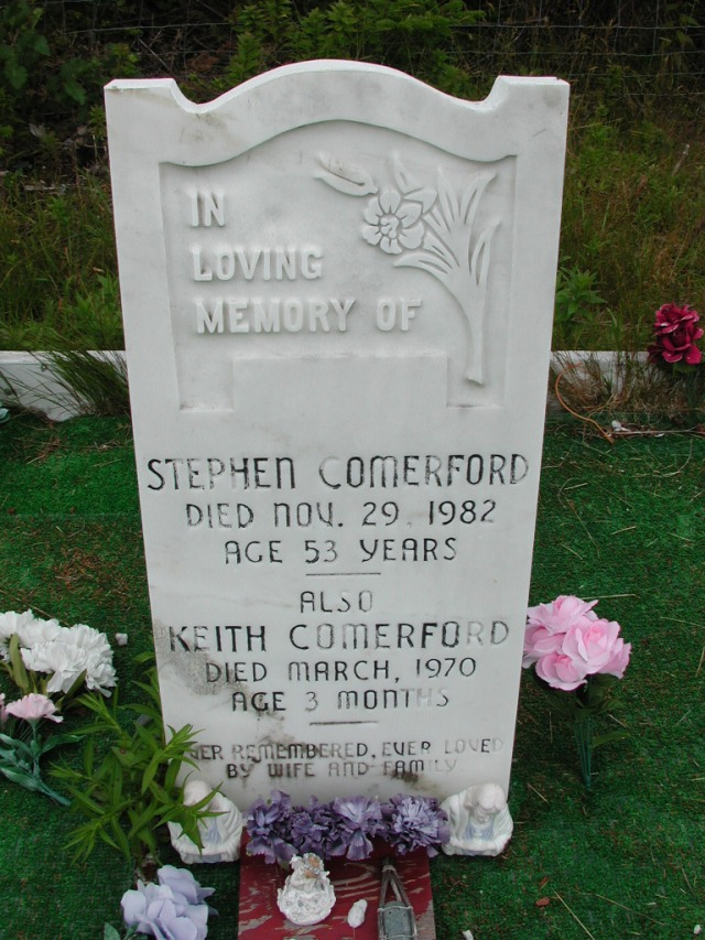 COMERFORD, Stephen (1982) & Keith (1970) ODN02-7747