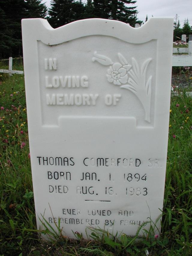 COMERFORD, Thomas Sr (1983) ODN02-1999