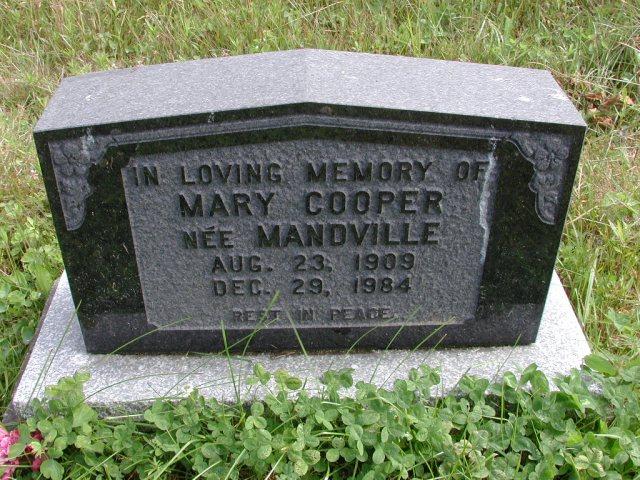 COOPER, Mary Mandville (1984) STM01-8168