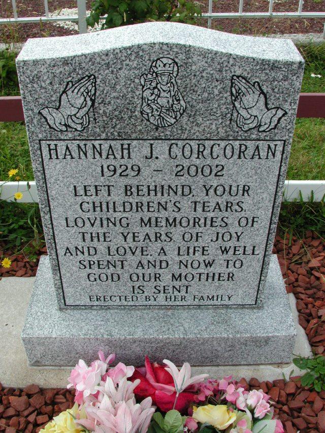 CORCORAN, Hannah J (2002) BRA01-3253