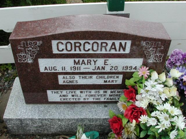 CORCORAN, Mary E (1994) & Agnes & Mary BRA01-3176