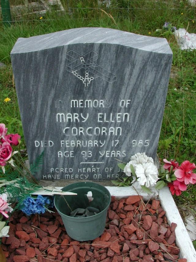 CORCORAN, Mary Ellen (1985) ODN02-7752
