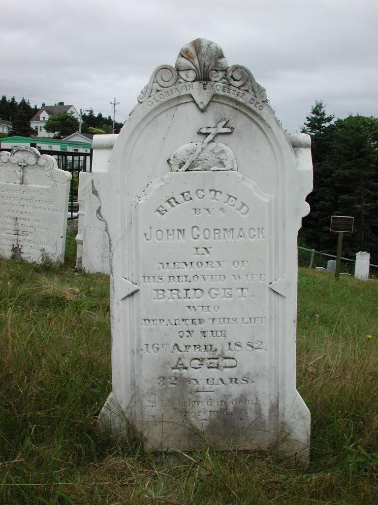CORMACK, Bridget (1882) SJP01-1926