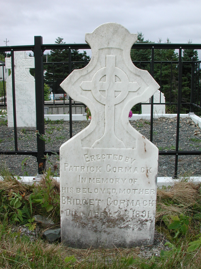 CORMACK, Bridget (1891) SJP01-1918