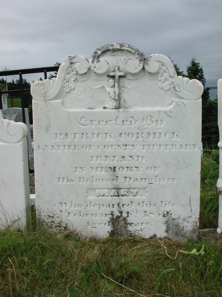 CORMICK, Mary (1859) SJP01-1912