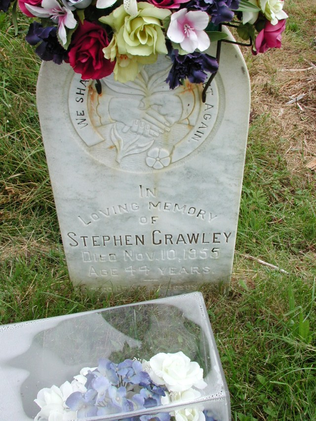CRAWLEY, Stephen (1955) STM01-8107
