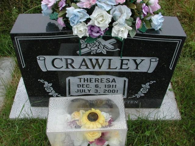 CRAWLEY, Theresa (2001) STM01-8106