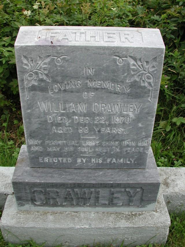 CRAWLEY, William (1970) STM01-8102