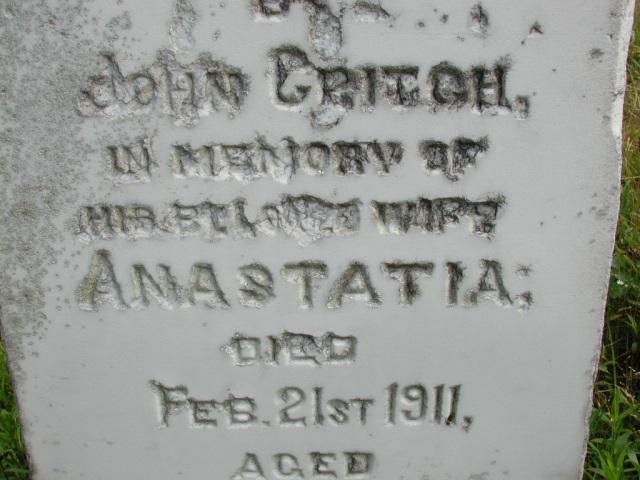 CRITCH, Anastatia (1911) STM01-8166