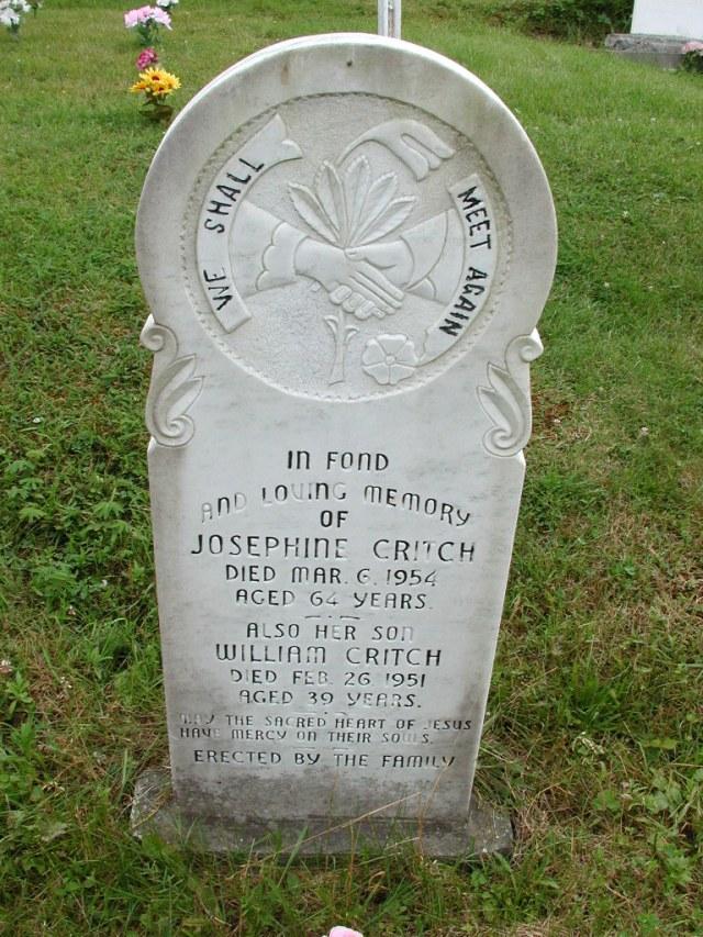 CRITCH, Josephine (1954) & William (1951) STM01-8088