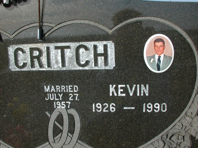 CRITCH, Kevin (1990) STM03-3699