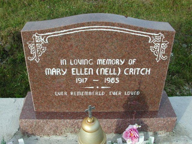 CRITCH, Mary Ellen Nell (1985) STM03-9457