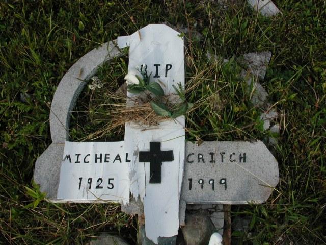 CRITCH, Michael (1999) STM03-9454