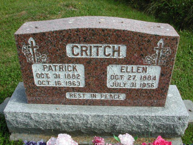 CRITCH, Patrick (1963) & Ellen (1956) STM01-8221