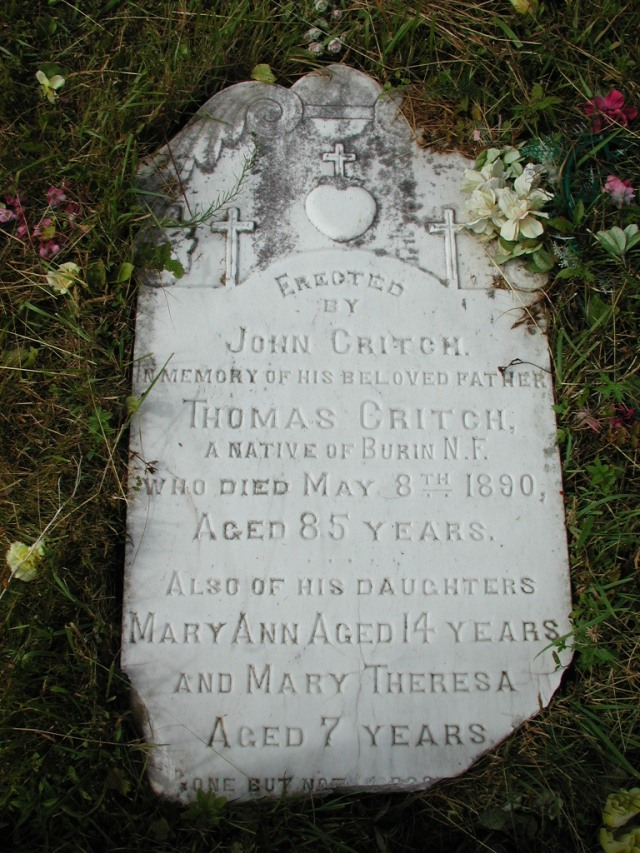 CRITCH, Thomas (1890) & Mary Ann STM01-2366