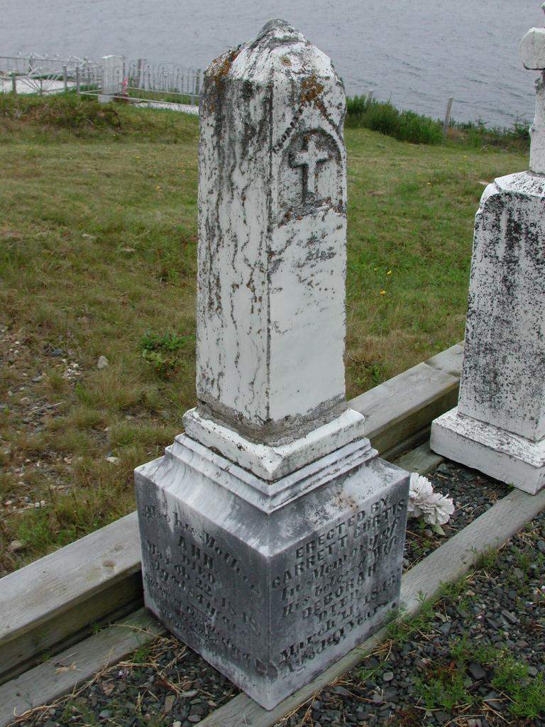 CURTIS, Garrett (1882) & Deborah & Margaret & Ann SJP01-7535
