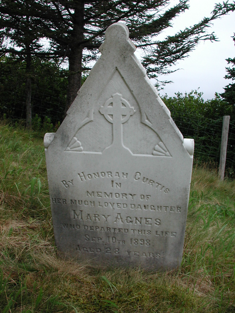 CURTIS, Mary Agnes (1898) SJP01-1780