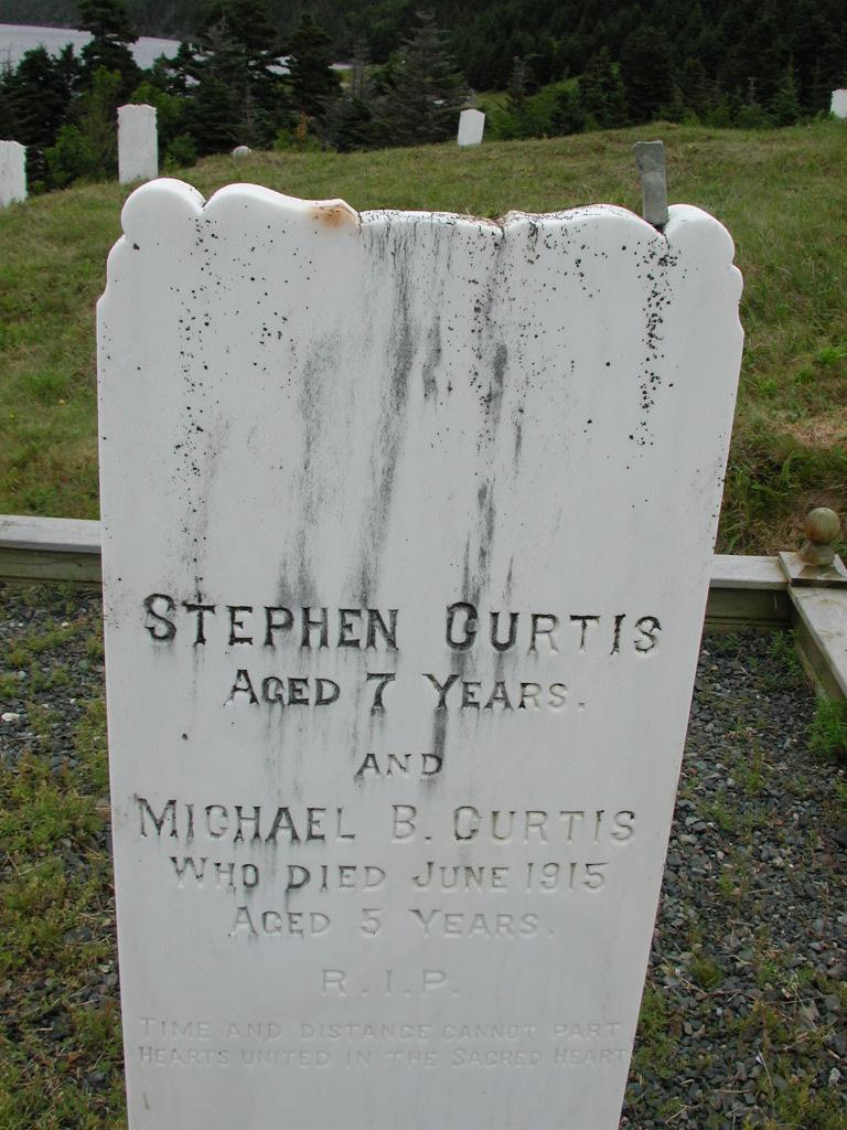 CURTIS, Michael B (1915) & Stephen & others SJP01-7556
