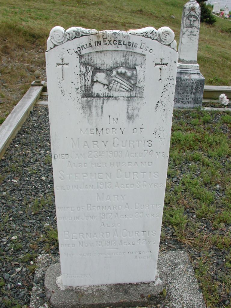 CURTIS, Stephen (1913) & Mary & Bernard & Mary SJP01-7534