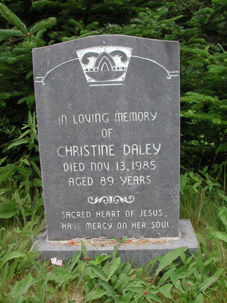 DALEY, Christine (1985) SJP01-1806