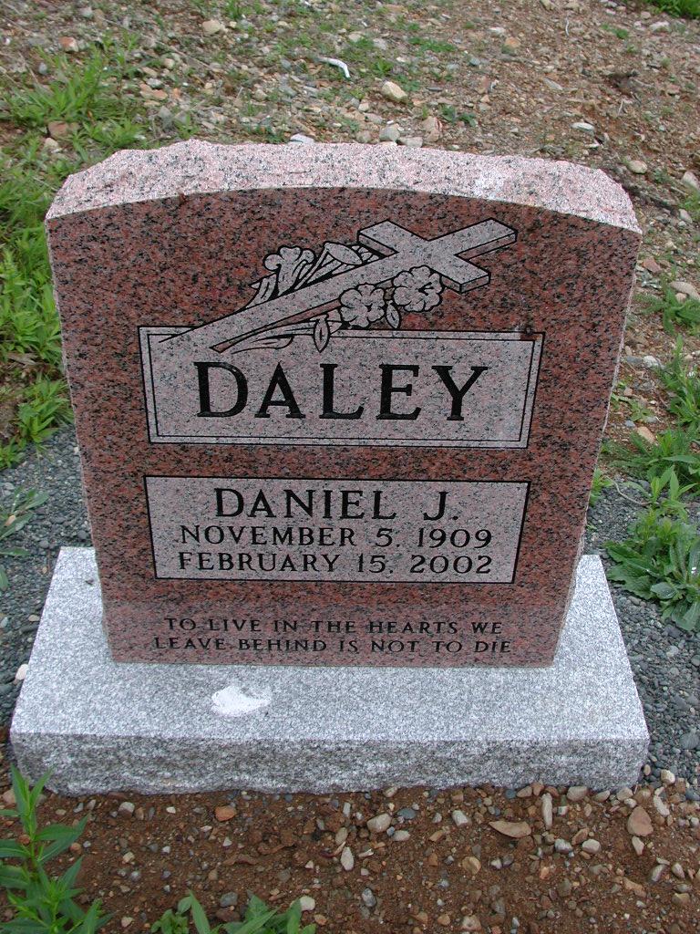 DALEY, Daniel J (2002) SJP01-7487