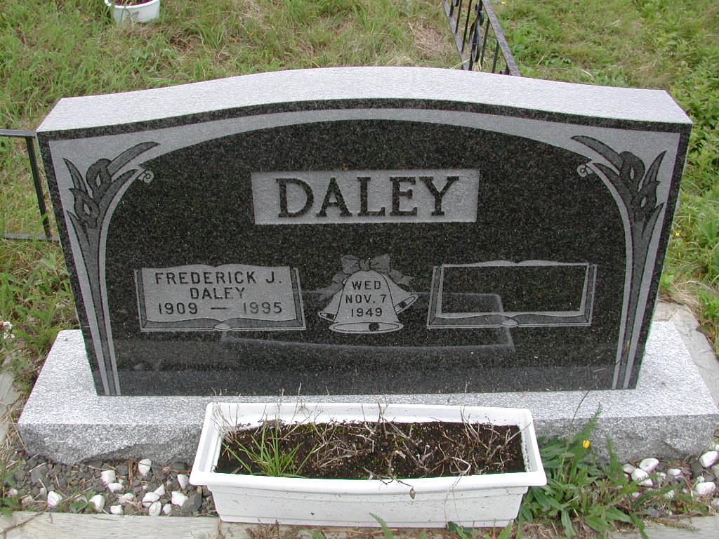 DALEY, Frederick J (1995) SJP01-7469