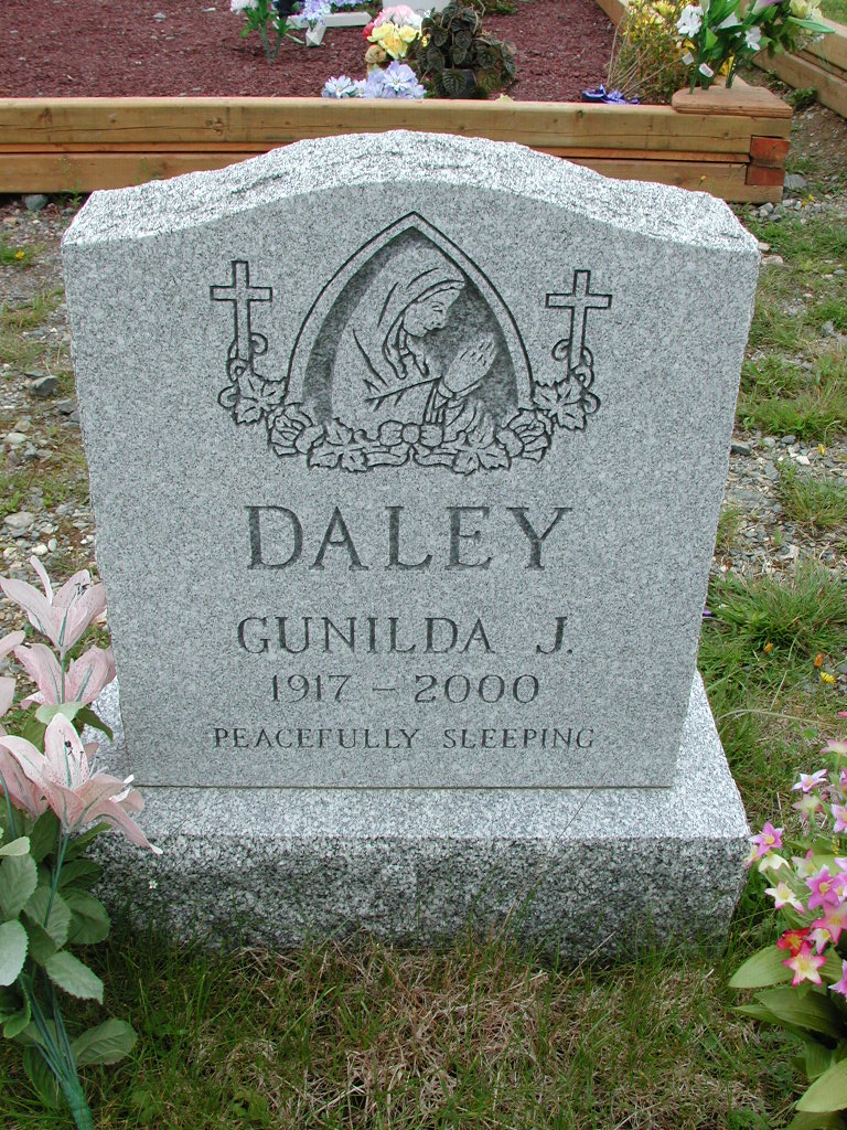 DALEY, Gunilda J (2000) ODN01-7728