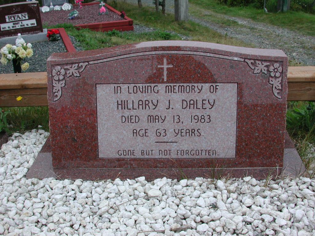 DALEY, Hillary J (1983) SJP01-1759