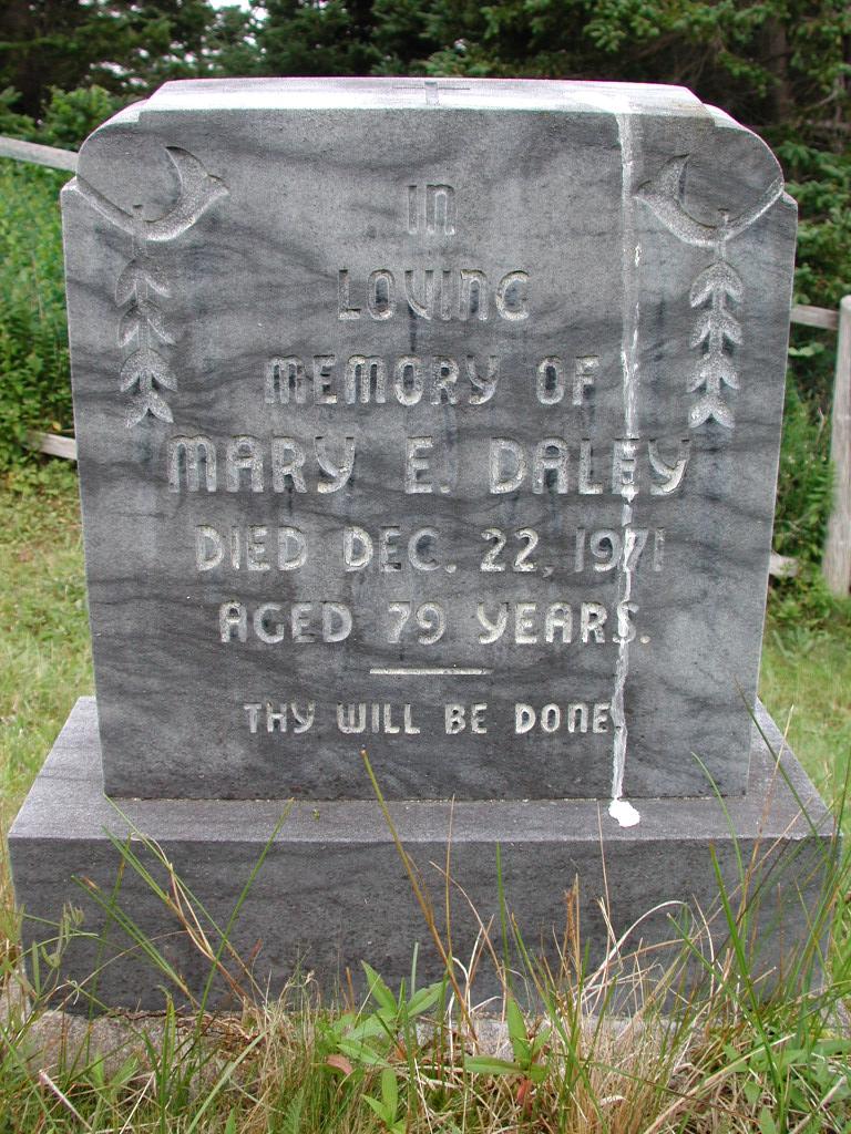 DALEY, Mary E (1971) SJP01-1797