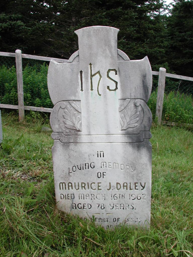 DALEY, Maurice J (1962) SJP01-1801