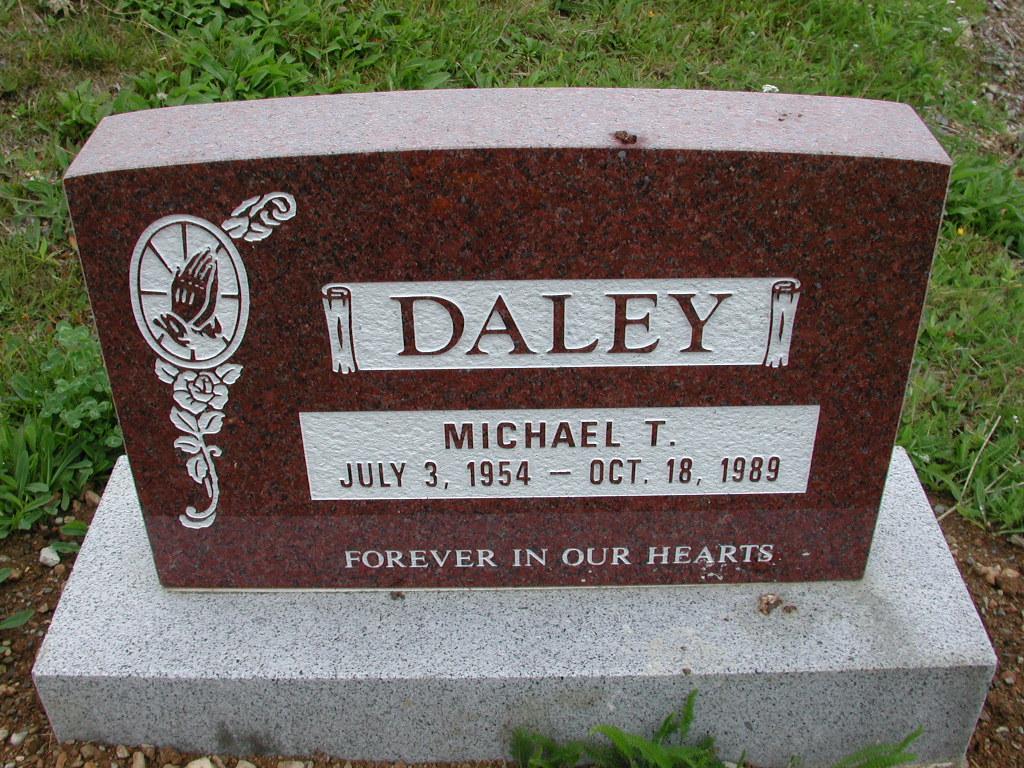DALEY, Michael T (1989) SJP01-7486