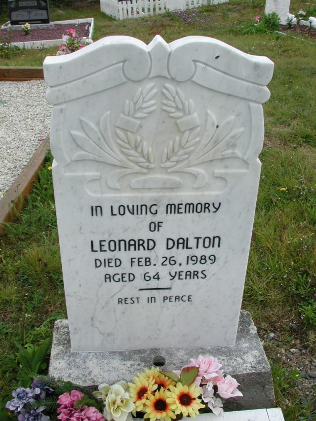DALTON, Leonard (1989) ODN02-7805