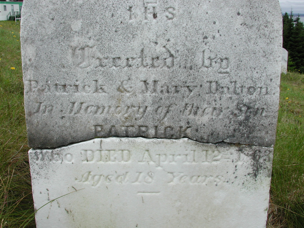 DALTON, Patrick (1863) SJP01-7686