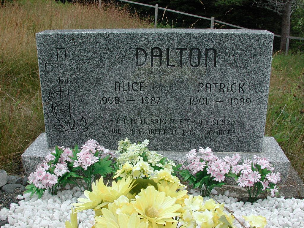 DALTON, Patrick (1989) & Alice (1987) SJP01-1848