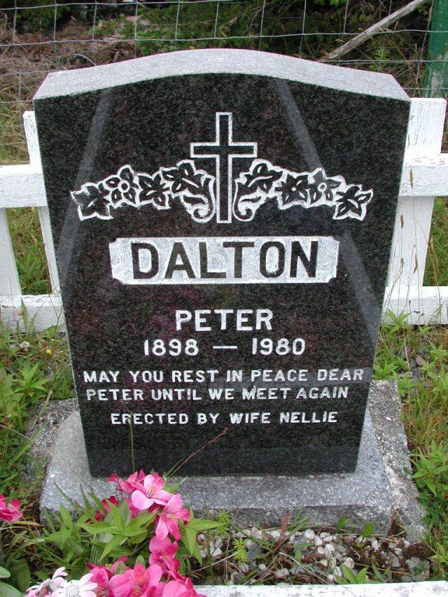 DALTON, Peter (1980) ODN02-7746