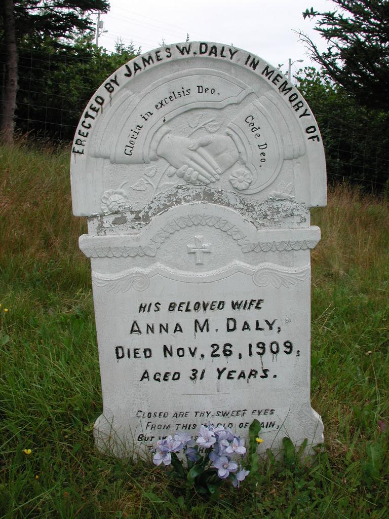 DALY, Anna M (1909) SJP01-1775