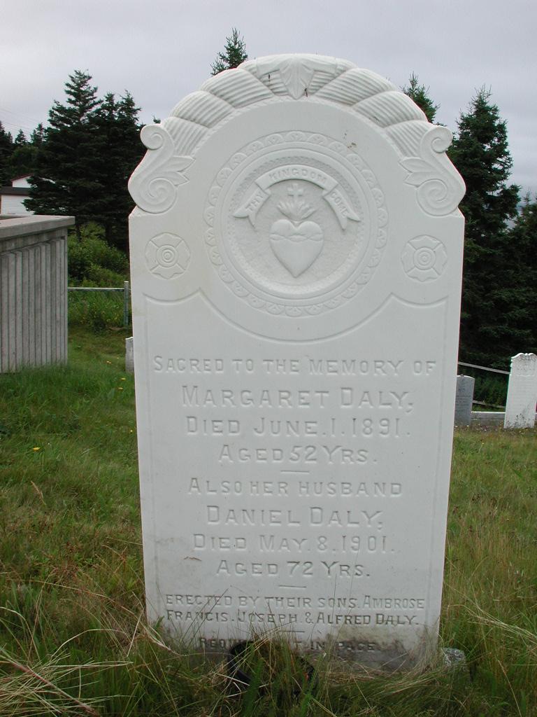 DALY, Daniel (1901) & Margaret (1891) SJP01-1860