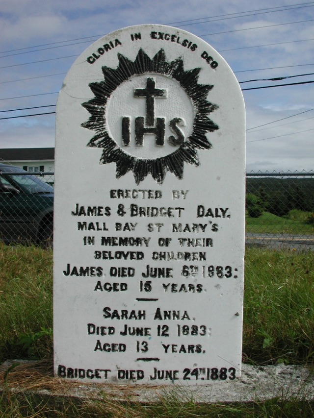 DALY, James (1883) & Sarah Anna & Bridget STM01-2419