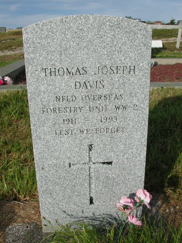 DAVIS, Thomas Joseph (1993) STM03-9427