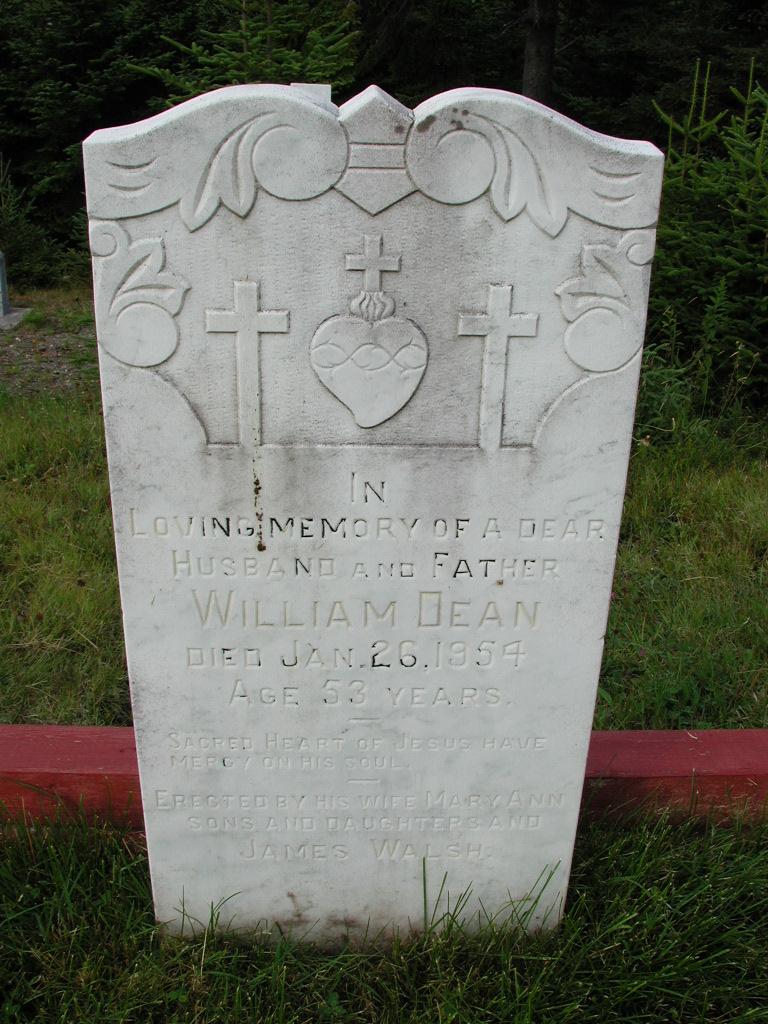 DEAN, William (1954) MCM01-7108
